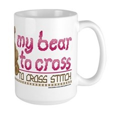 My Bear to Cross Mug