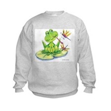 Logan the frog Sweatshirt