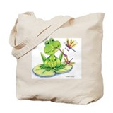 Logan the frog Tote Bag