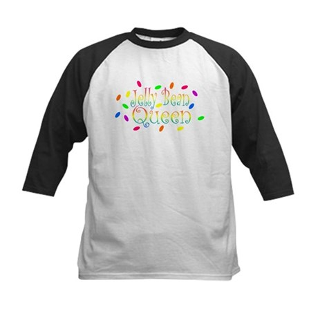 Jelly Bean Queen Kids Baseball Jersey