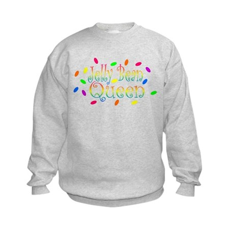 Jelly Bean Queen Kids Sweatshirt
