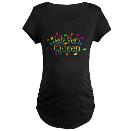 Jelly Bean Queen Maternity Dark T-Shirt
