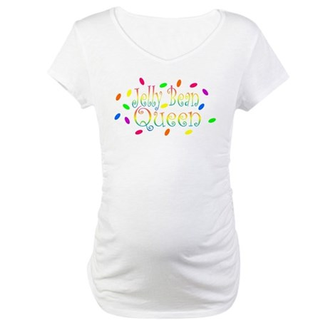 Jelly Bean Queen Maternity T-Shirt