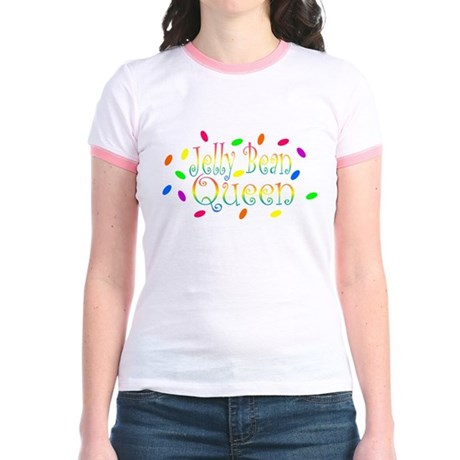 Jelly Bean Queen Jr. Ringer T-Shirt