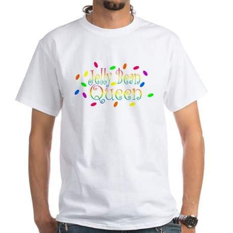 Jelly Bean Queen White T-Shirt