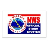 Cute National weather service Decal