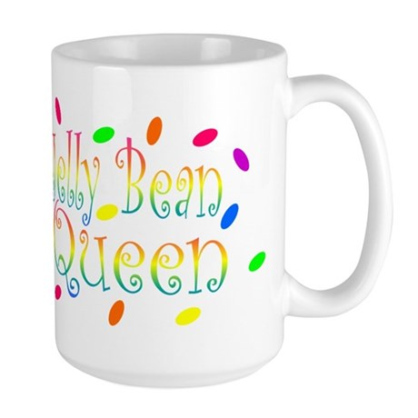 Jelly Bean Queen Large Mug