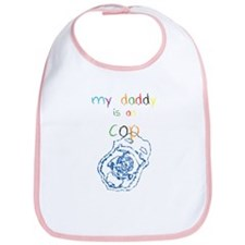 My Daddy-Cop Bib