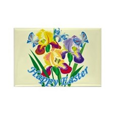 Happy Easter 6 Rectangle Magnet (100 pack)