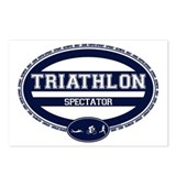Triathlon Oval - Women's Spectator Postcards (Pack
