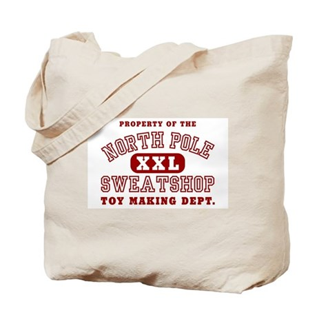 Property of the North Pole Tote Bag