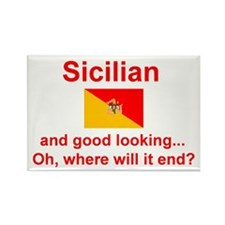 Good Looking Sicilian Rectangle Magnet (10 pack)