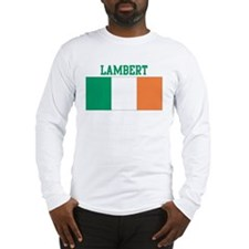Lambert (ireland flag) Long Sleeve T-Shirt