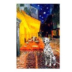 Cafe / Dalmatian #1 Postcards (Package of 8)