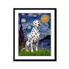 Starry / Dalmatian #1 Framed Panel Print