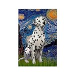 Starry / Dalmatian #1 Rectangle Magnet