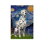 Starry / Dalmatian #1 Rectangle Magnet (10 pack)