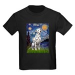 Starry / Dalmatian #1 Kids Dark T-Shirt