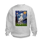 Starry / Dalmatian #1 Kids Sweatshirt