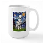 Starry / Dalmatian #1 Large Mug