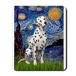 Starry / Dalmatian #1 Mousepad