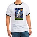 Starry / Dalmatian #1 Ringer T