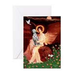 Angel / Dalmatian #1 Greeting Card