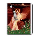 Angel / Dalmatian #1 Mousepad