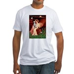 Angel / Dalmatian #1 Fitted T-Shirt