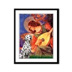 Mandolin / Dalmatian #1 Framed Panel Print