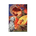 Mandolin / Dalmatian #1 Rectangle Magnet (100 pack
