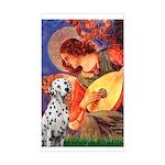 Mandolin / Dalmatian #1 Sticker (Rectangle)