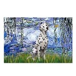 Lilies / Dalmatian #1 Postcards (Package of 8)