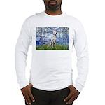 Lilies / Dalmatian #1 Long Sleeve T-Shirt