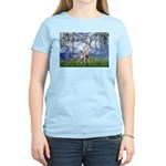 Lilies / Dalmatian #1 Women's Light T-Shirt