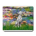 Lilies/ Dalmatian #1 Mousepad