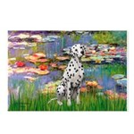 Lilies/ Dalmatian #1 Postcards (Package of 8)