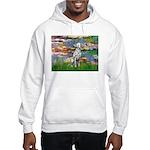 Lilies/ Dalmatian #1 Hooded Sweatshirt