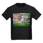 Lilies/ Dalmatian #1 Kids Dark T-Shirt