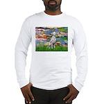 Lilies/ Dalmatian #1 Long Sleeve T-Shirt
