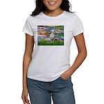 Lilies/ Dalmatian #1 Women's T-Shirt