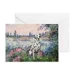 Seine / Dalmatian #1 Greeting Card