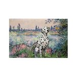 Seine / Dalmatian #1 Rectangle Magnet (10 pack)
