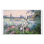 Seine / Dalmatian #1 Sticker (Rectangle 50 pk)