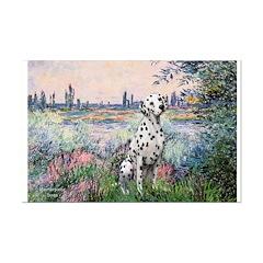 Seine / Dalmatian #1 Posters