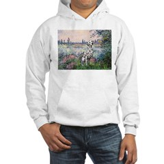 Seine / Dalmatian #1 Hooded Sweatshirt