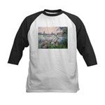 Seine / Dalmatian #1 Kids Baseball Jersey