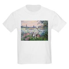 Seine / Dalmatian #1 Kids Light T-Shirt