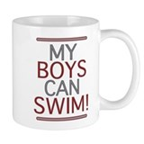 My Boys Can Swim (Dad 2 be) Mug