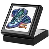 I'd Rather Be Running Keepsake Box